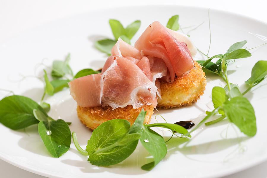 Parma Ham Croquette Salad