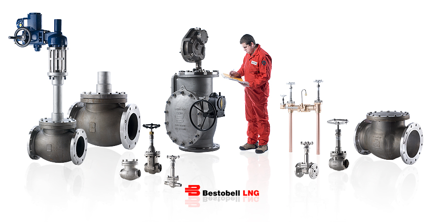 Bestobell LNG Flow Group Valves